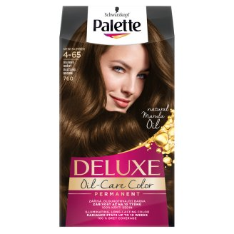 Schwarzkopf Palette Deluxe Oil-Care Color 760 Shiny Medium Brown Permanent Hair Colorant