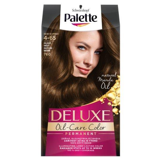 Schwarzkopf Palette Deluxe Intense Cream Hair Colorant 760 Shiny Medium Brown