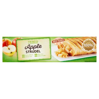 Tesco Quick-Frozen Apple Strudel 500 g