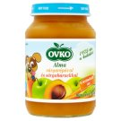 Ovko Gluten- and Dairy-Free Apple-Carrot-Peach Dessert for Babies 6+ Months 190 g
