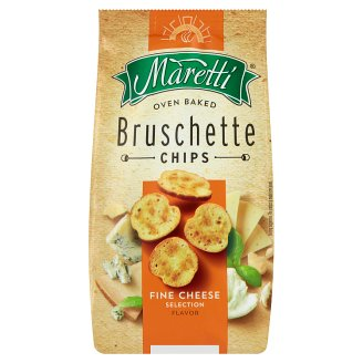 Maretti Bruschette Baked Bread Circles with Mixed Cheese Flavour 70 g