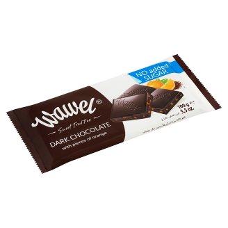 Wawel No Added Sugar Dark Chocolate with Orange and Sweetener 100 g