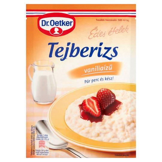 Dr. Oetker Édes Ételek vaníliaízű tejberizs alap 125 g