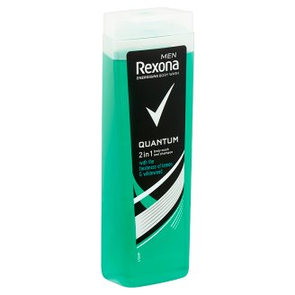 Rexona Men Quantum Body Wash and Shampoo 400 ml