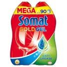 Somat Gold Gel Anti Grease gépi mosogató gél 2 x 900 ml