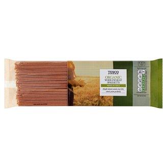 Tesco BIO teljes kiőrlésű spagetti durum száraztészta 500 g