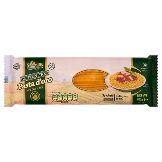 Sam Mills Pasta d'oro Spagetti gluténmentes tészta kukoricából 500 g