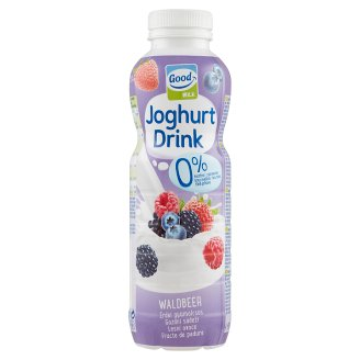 Good Milk Low-Fat Forest Fruit Yoghurt Drink with Fruit Puree and Fruit Juice 500 g