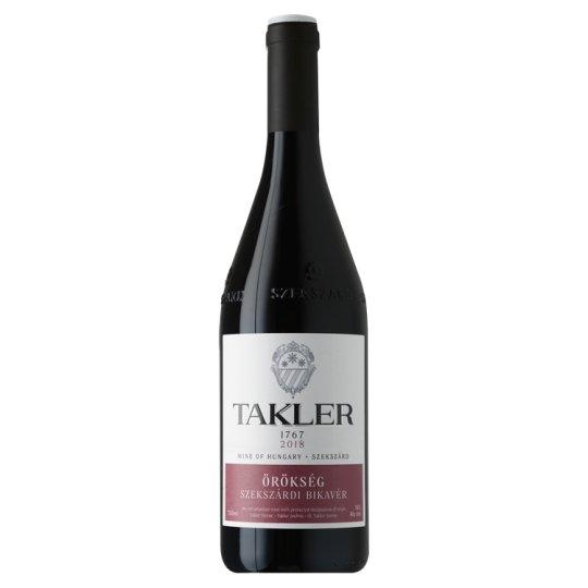 Takler Bikavér Dry Red Wine 13,5% 0,75 l
