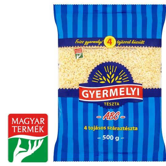 Gyermelyi ABC Dry Pasta with 4 Eggs 500 g