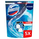 DOMESTOS Power5 WC frissítő blokk Ocean 5 x 55 g