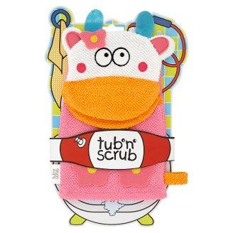 Tub'n'Scrub mintás gyerek fürdőkesztyű