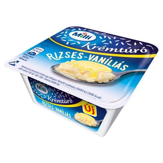 Milli Rise-Vanilla Cream Cottage Cheese 90 g
