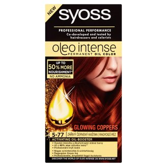 Syoss Color Oleo Intense Oil Hair Colorant 5-77 Shiny Copper