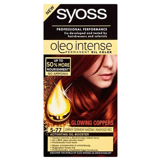 Syoss Color Oleo intenzív olaj hajfesték 5-77 ragyogó réz