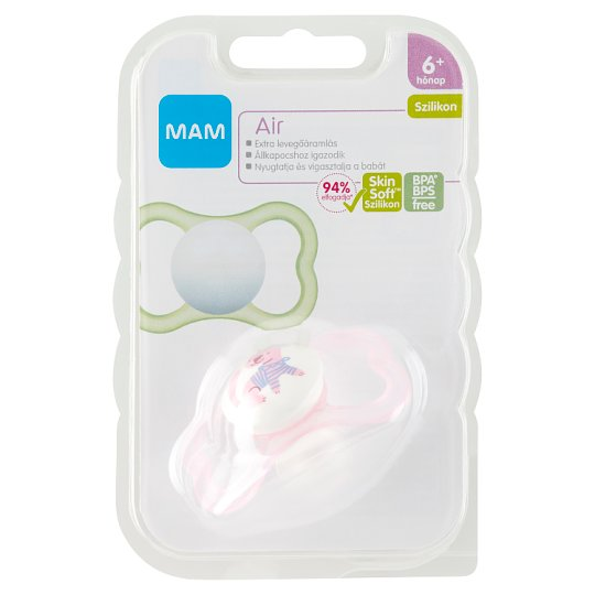 MAM Air Silicone Soother 6+ Months
