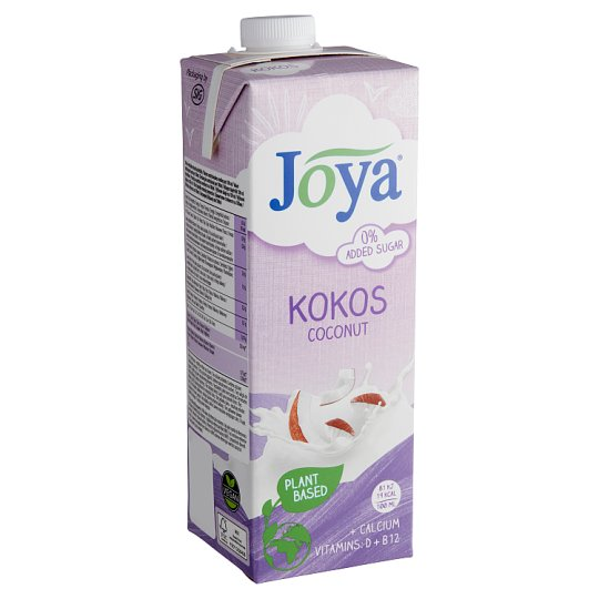 Joya Soya UHT Coconut Drink with Calcium and Vitamin D2 and B12 1 l