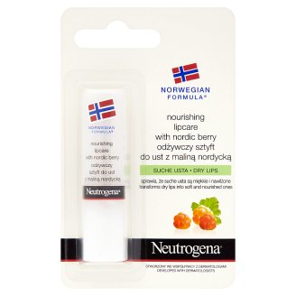 Neutrogena Norwegian Formula Nourishing Lipcare with Nordic Berry for Dry Lips 4,8 g