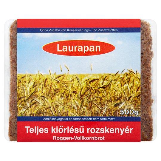 Laurapan Whole Grain Rye Bread 500 g