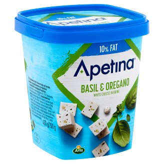 Arla Apetina Cheese with Basil and Oregano 390 g