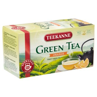 Teekanne Flavoured Green Tea with Orange Taste 20 Tea Bags 35 g