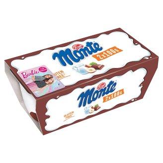 Zott Monte csokoládés, mogyorós tejdesszert 2 x 100 g