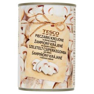 Tesco Sliced Champignon in Brine 400 g