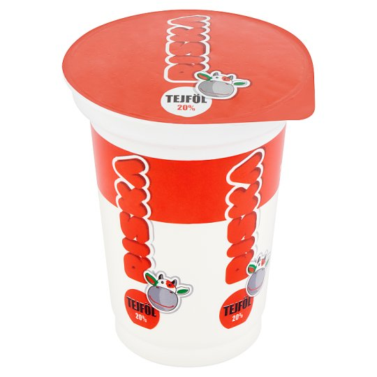 Riska Cultured Sour Cream 20% 330 g