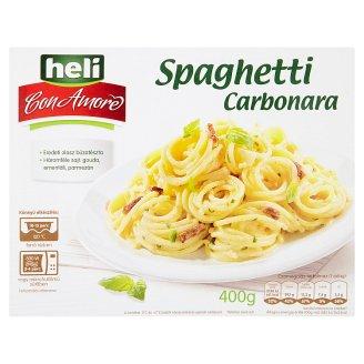 Heli Con Amore Spaghetti Carbonara pasztőrözött készétel 400 g