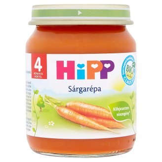HiPP Gluten- and Dairy-Free Carrot Baby Food 4+ Months 125 g