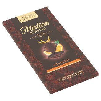 Gorenjka Mistica 70% Dark Chocolate with Orange Peel 100 g