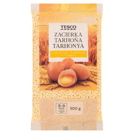 Tesco tarhonya 4 tojásos száraztészta 500 g
