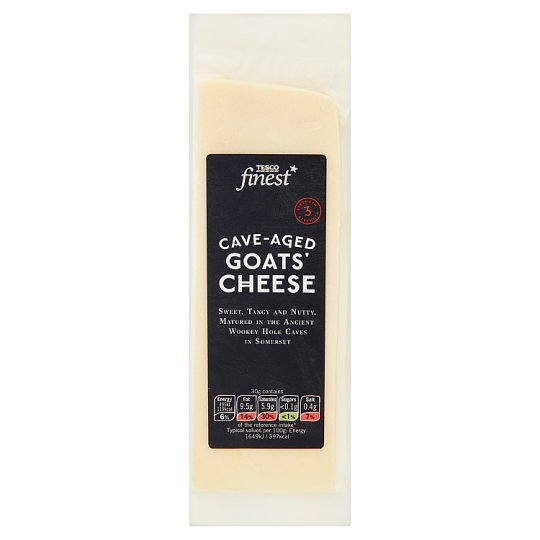 Tesco Finest Cave-Aged Goats' Cheese 190 g