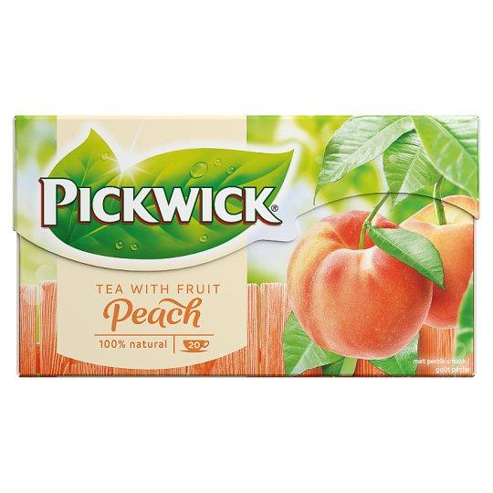 Pickwick Peach Flavoured Black Tea 20 Tea Bags 30 g