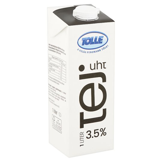 Tolle UHT Fat Milk 3,5% 1 l