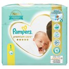 Pampers Premium Care Size 1, Nappy x26, 2kg-5kg