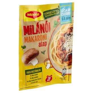 Maggi Fortélyok tésztára XXL Macaroni Milanese Base 56 g