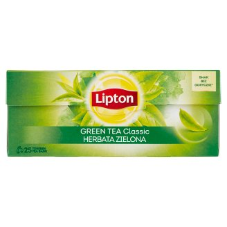 Lipton Unflavoured Green Tea 25 Tea Bags