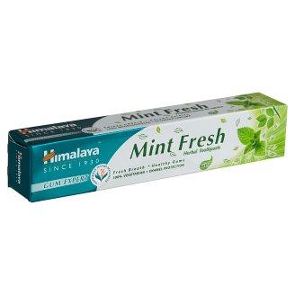 Himalaya Herbals frissítő mentás gyógynövényes fogkrém gél 75 ml