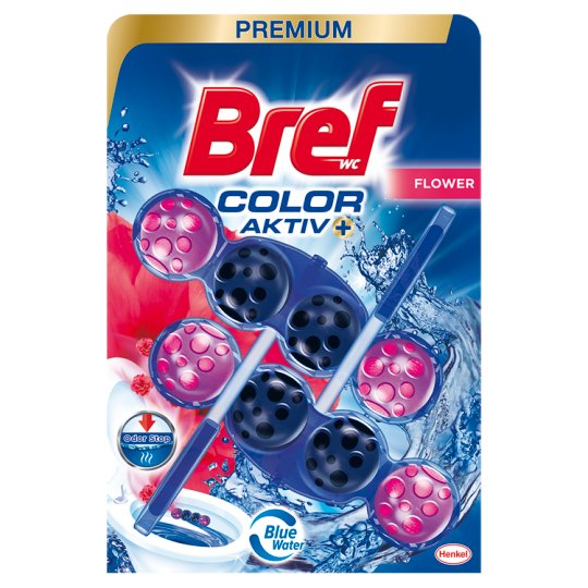 Bref Color Aktiv Fresh Flowers Toilet Block 2 x 50 g