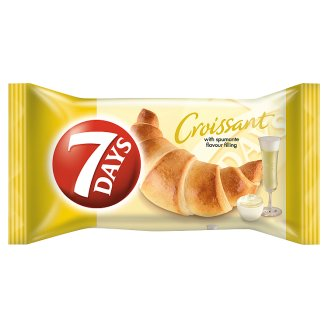7DAYS Croissant with Spumante Flavour Filling 60 g