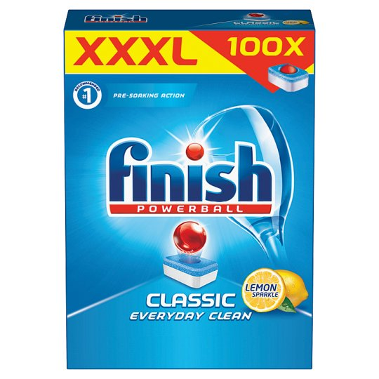Finish Classic Lemon Dishwasher Tablets 100 pcs