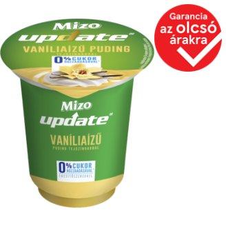 Mizo Update 1 vanília ízű puding édesítőszerekkel és tejszínhabbal 125 g