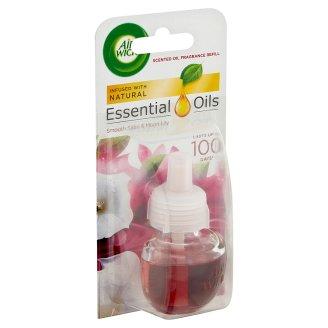 Air Wick Essential Oils Bársonyos Szatén és Éji Liliom utántöltő elektromos légfrissítőhöz 19 ml