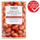Tesco Borlotti Brown Beans in Water 400 g