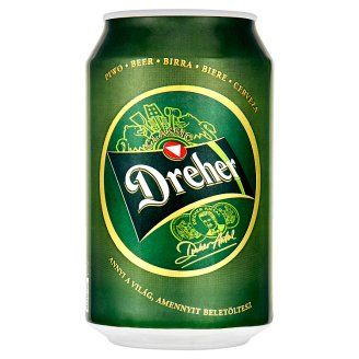 Dreher Classic Lager Beer 5,2% 0,33 l