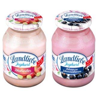 Landliebe rebarbarás vagy feketeribizlis joghurt 500 g