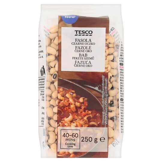 Tesco Black Eyed Beans 250 g