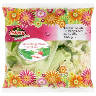 Eisberg Spring Salad with Ramsons and Radish 280 g