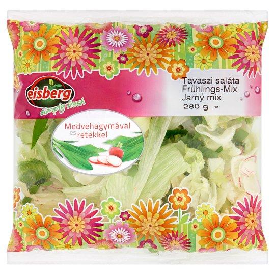 Eisberg tavaszi saláta medvehagymával és retekkel 280 g
